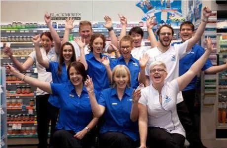 Pharmacy of the Year 2014: Capital Chemist Charnwood staff celebrate
