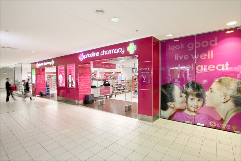 Priceline Pharmacy outdoor shot