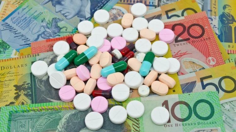 PBS sustainable: pills on Australian dollars