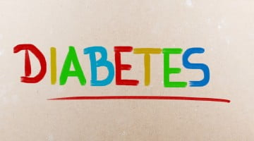 """diabetes"" in coloured text"