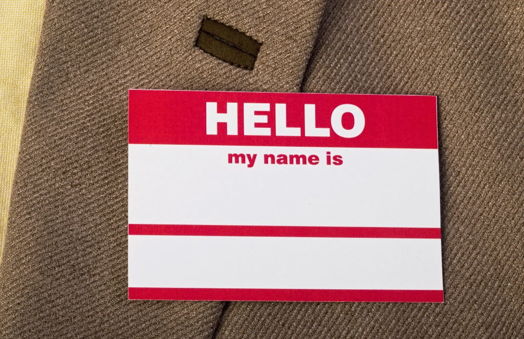 blank nametag - PSA15 conference