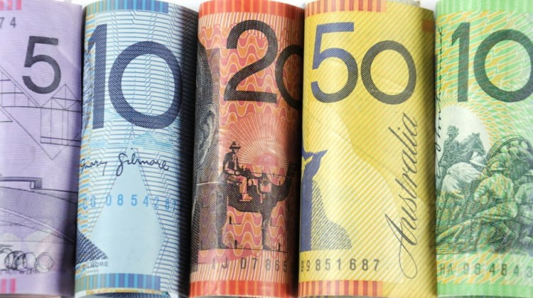 Australian currency rolled (6CPA funding)