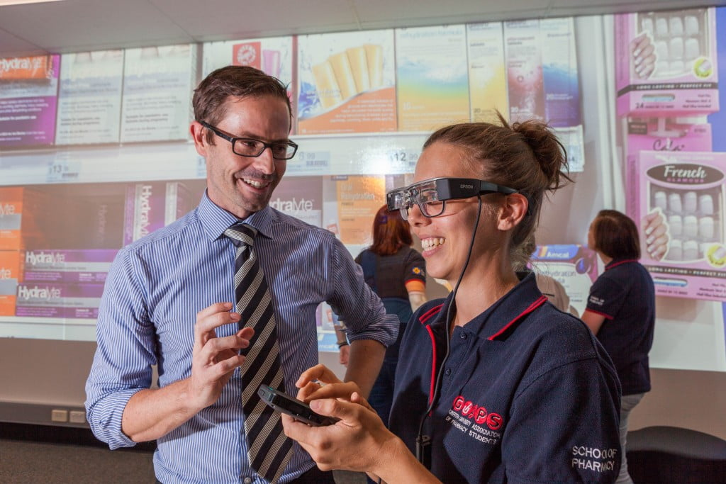 Griffith School of Pharmacy's new virtual learning environment