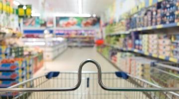 view from shopping trolley: PSA story