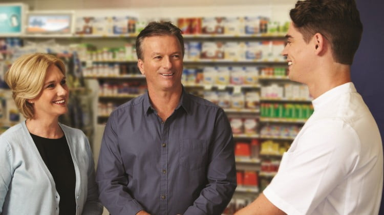 Steve Waugh at Blooms the Chemist