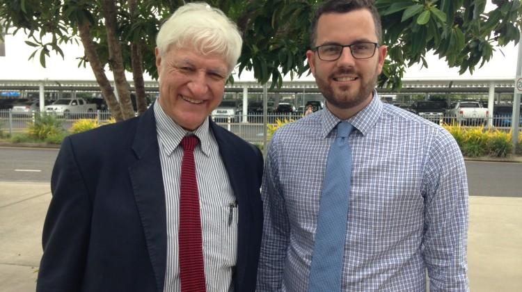 Bob Katter and Trent Twomey