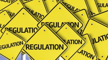 """regulation"" written on many road signs: deregulate pharmacy"