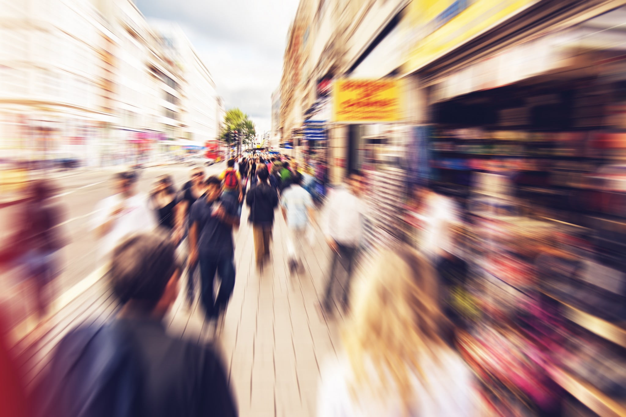 health on the high street: london's oxford street