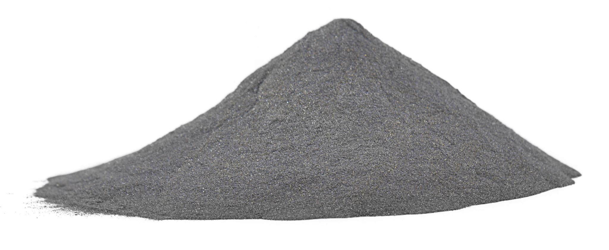 lead powder in a little heap
