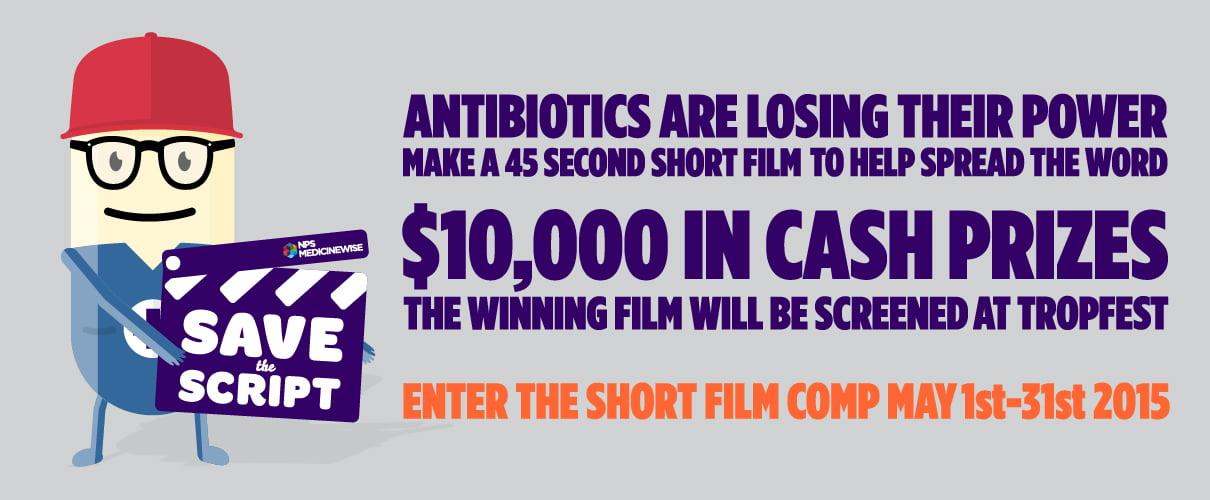 savethescript antibiotic announcement