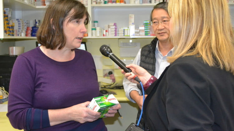 Ruth Cerone interviewed regarding pharmacy defunding