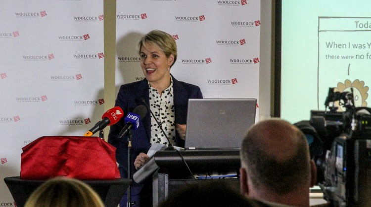 Tanya Plibersek opens John Tan's food allergy clinic