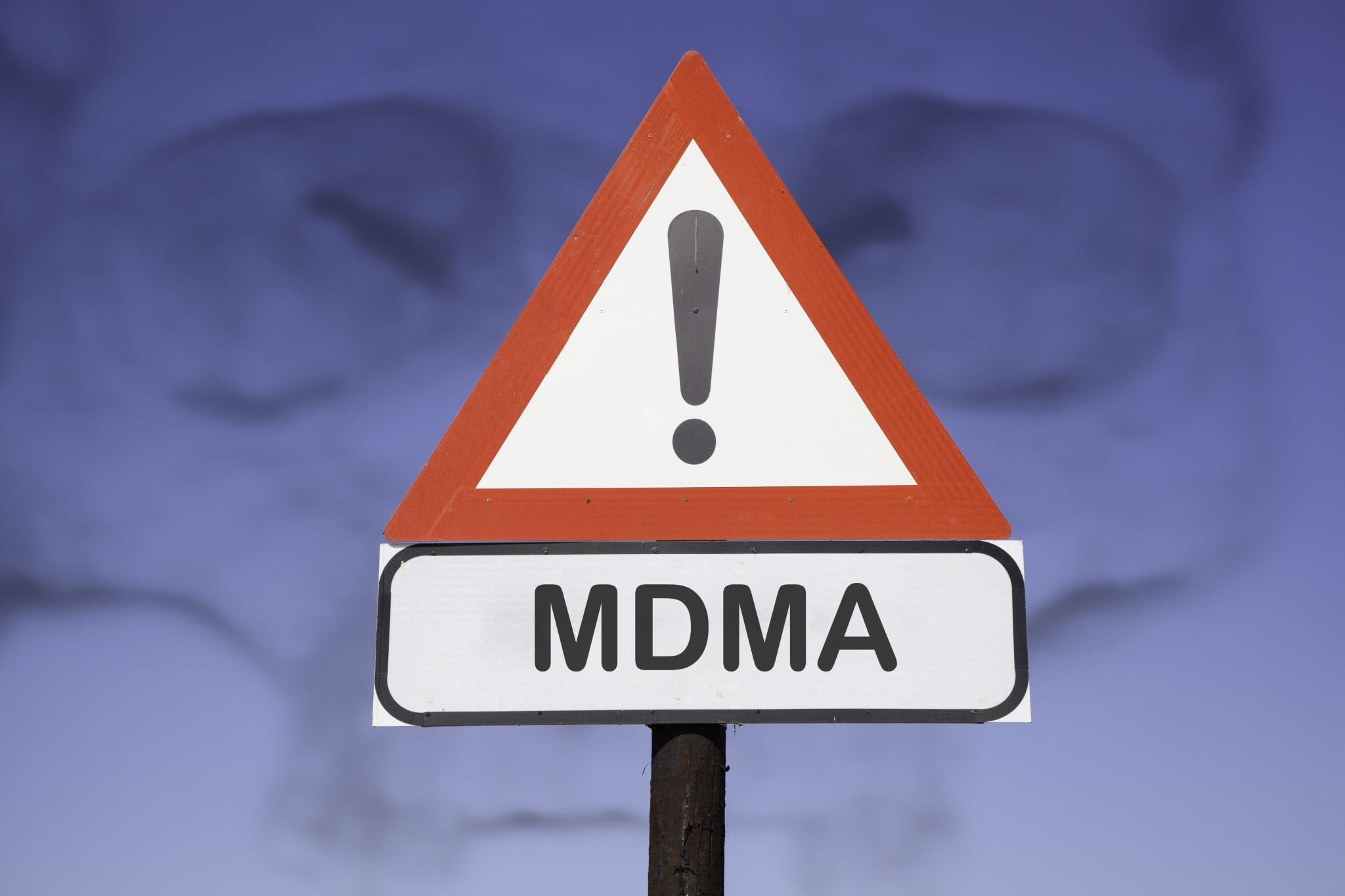 ecstasy or MDMA stop sign