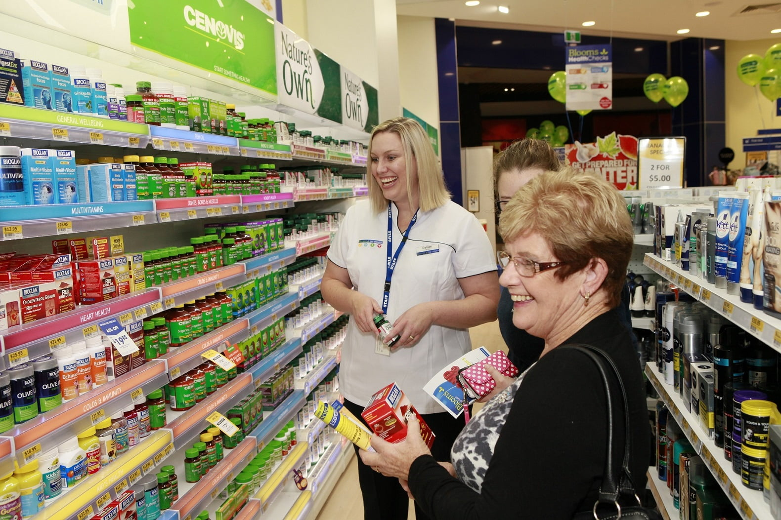 Blooms the CHemist wins Canstar Blue Award