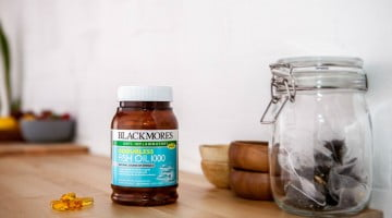 Blackmores Odourless Fish Oil product shot