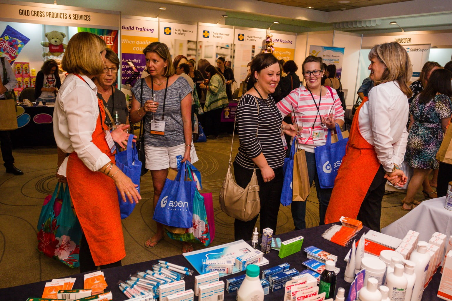 pharmacy assistants at PA2014