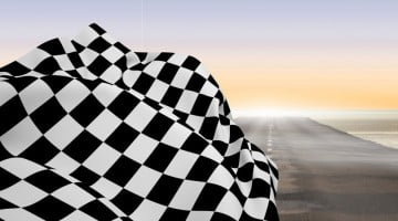 inflectra story, checkered race winning flag