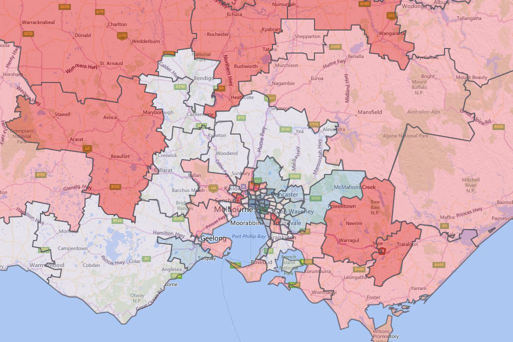 diabetes map of melbourne