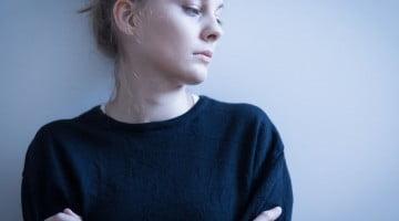 sad woman - mental health blog