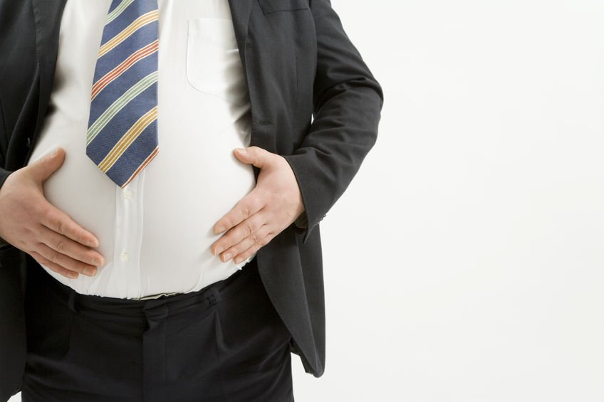 obese men - man in suit