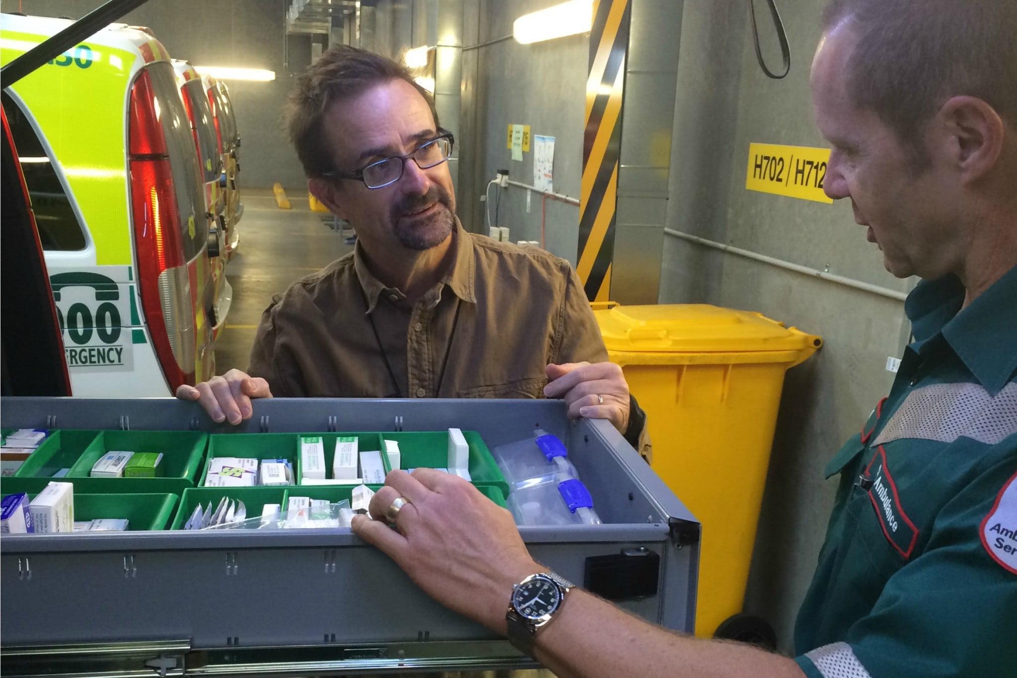 ECP Pharmacist - drug drawer