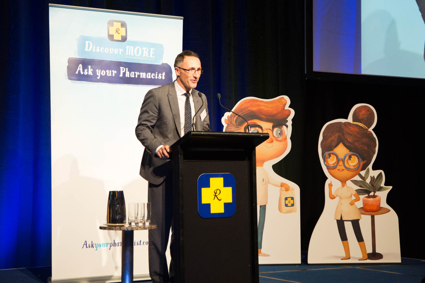 Senator Richard di Natale at a previous Pharmacy Guild dinner