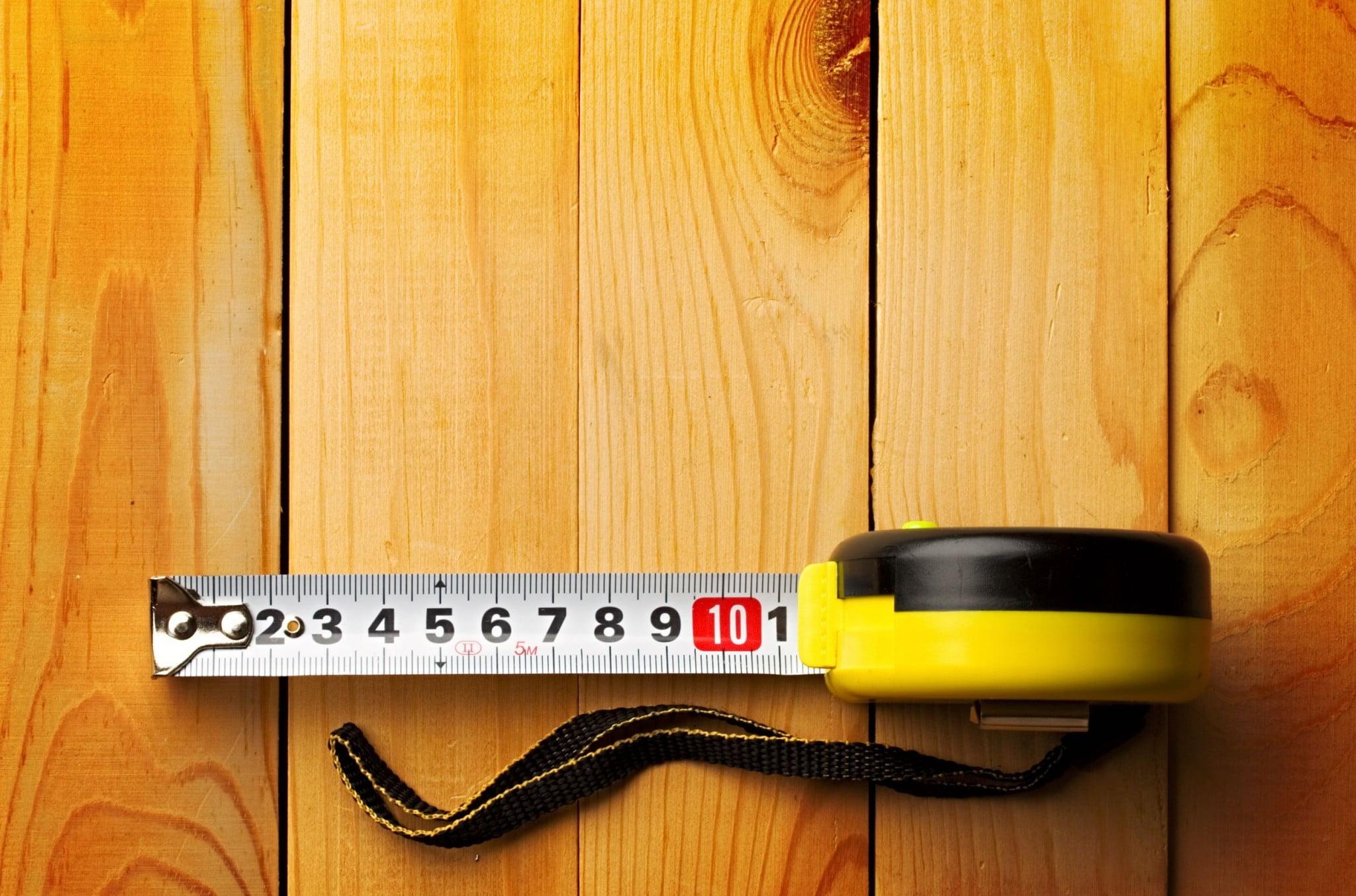 builder's tape measure