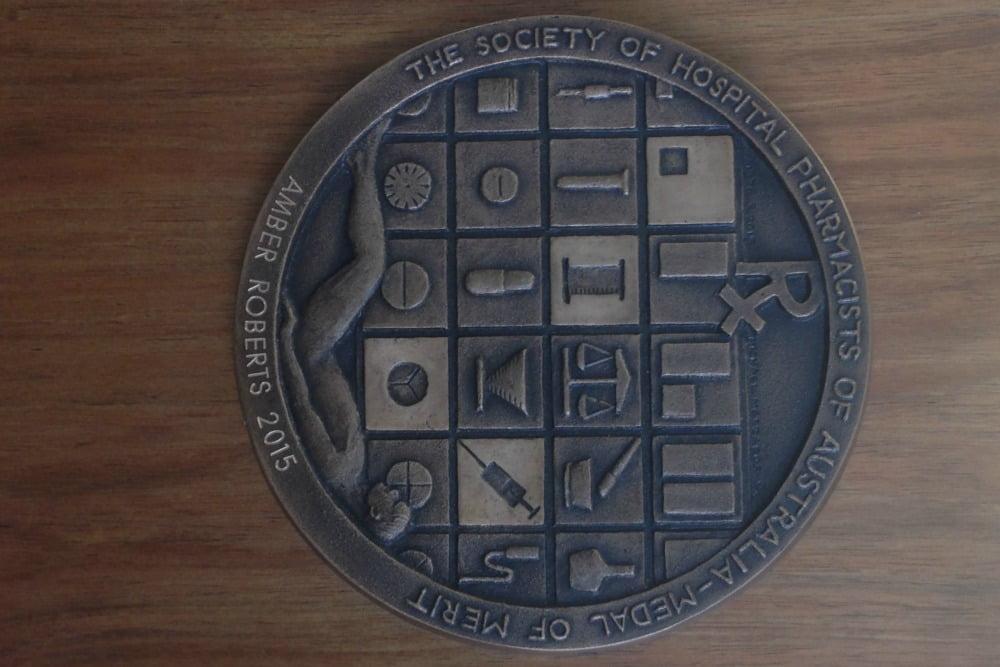 Amber Roberts' SHPA medal