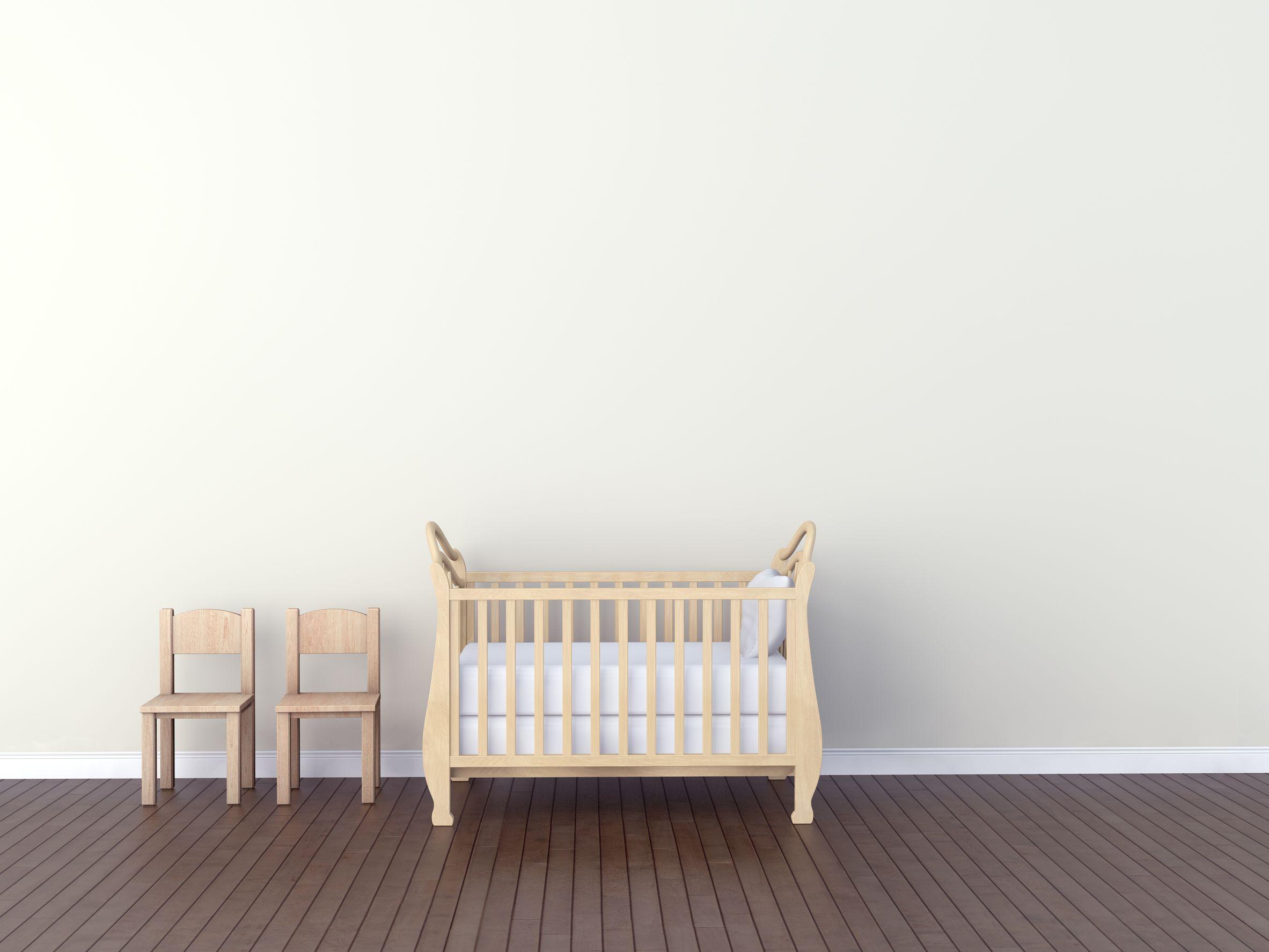empty cot
