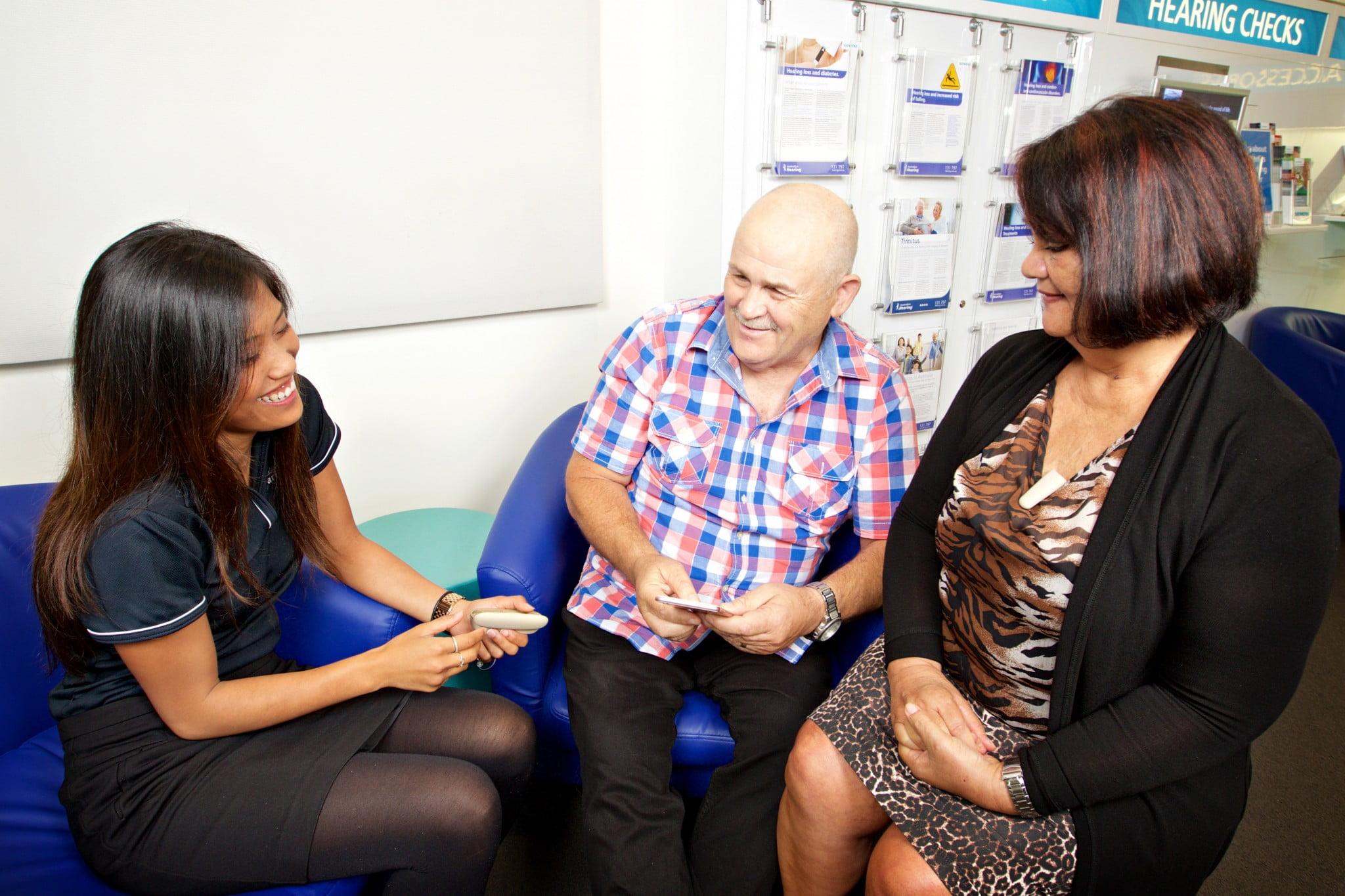 hearing screening at Sigma pharmacies