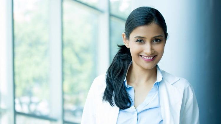 happy pharmacist