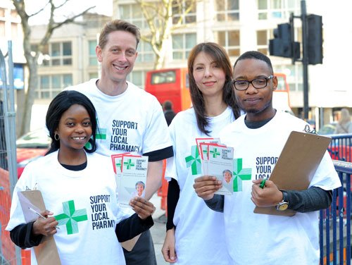 NPA members at Support Your Pharmacies event