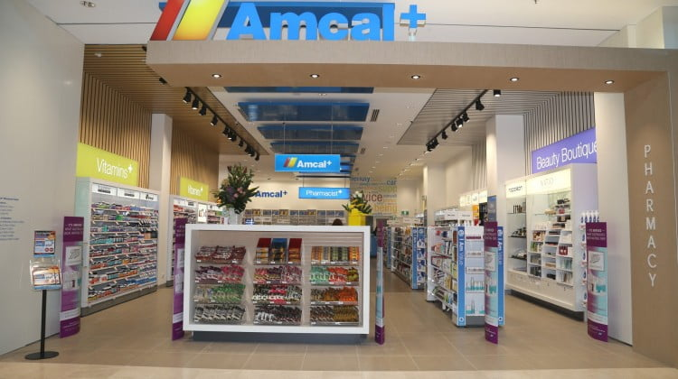 Amcal + shopfront