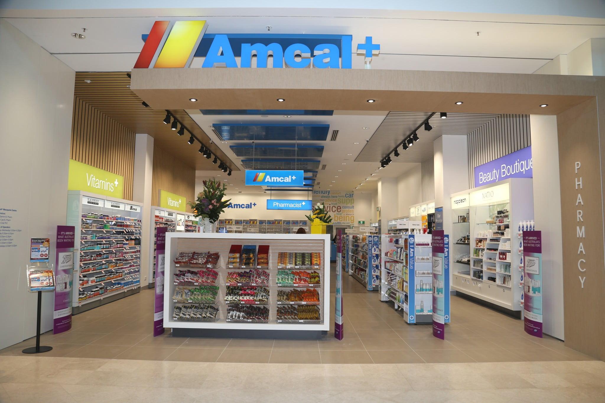 Amcal + shopfront