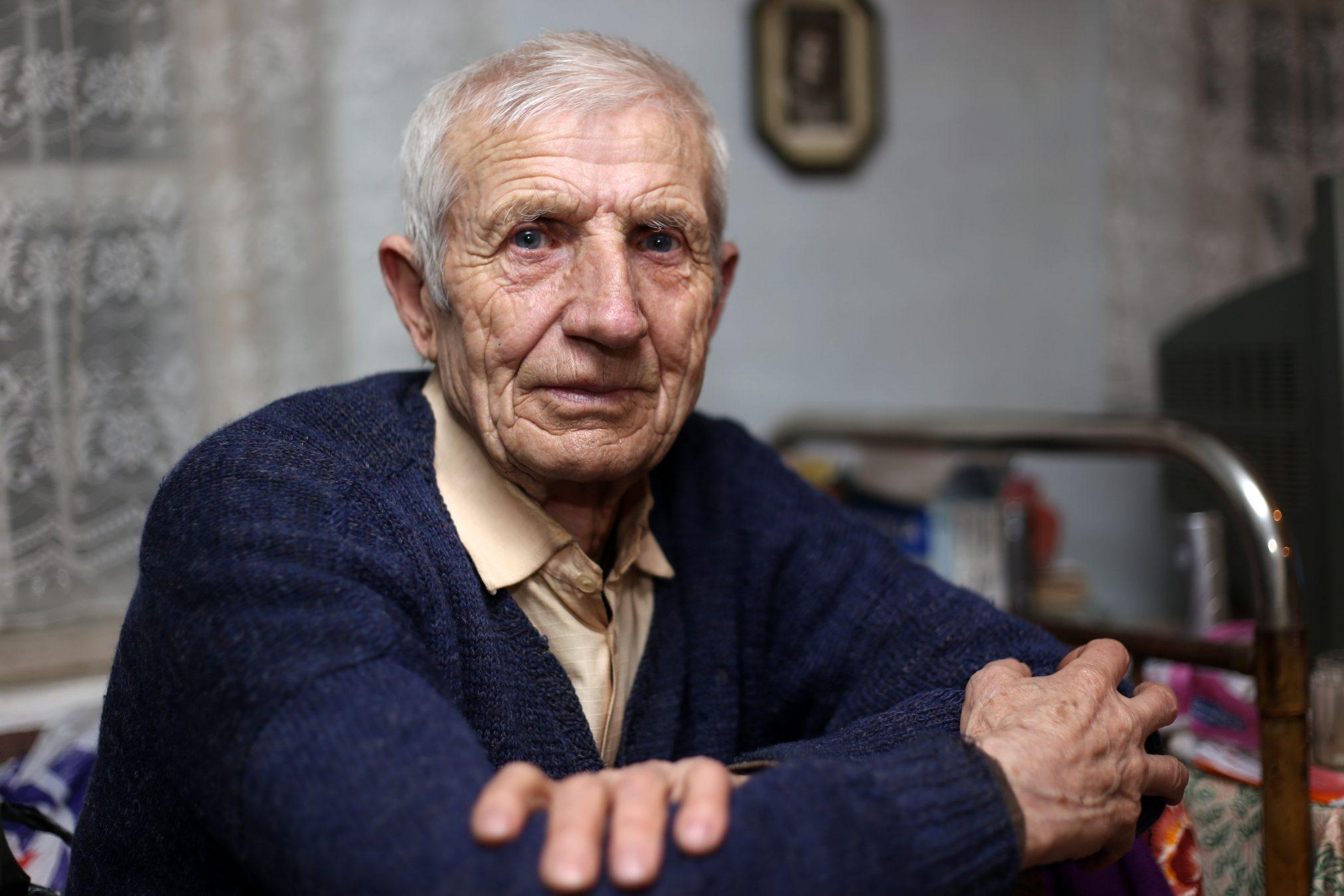 elderly older man senior aged care