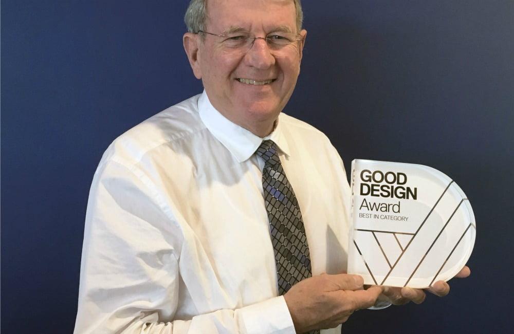 gerard stevens with design award