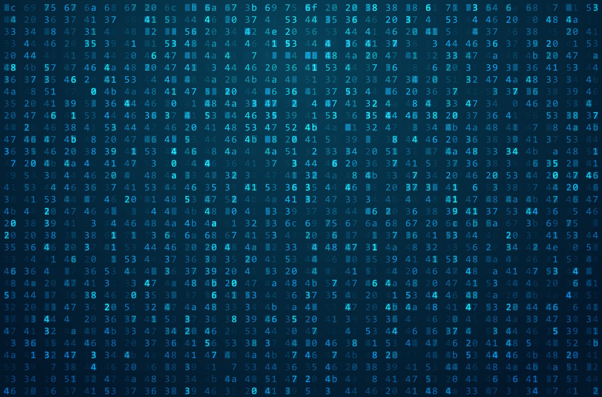56768357 - abstract matrix background. binary computer code. coding / hacker concept. background illustration.