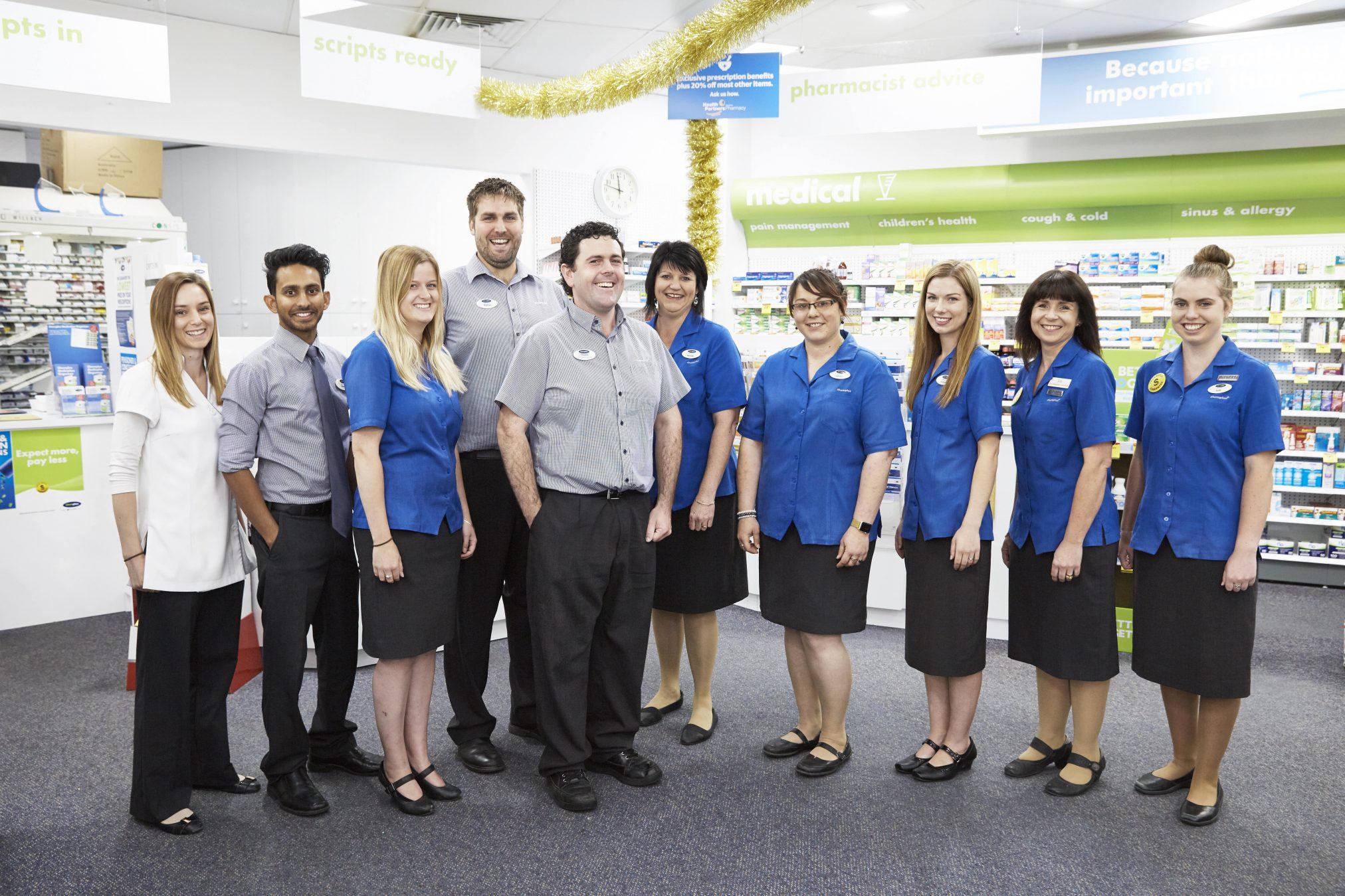Waikerie Pharmacy team