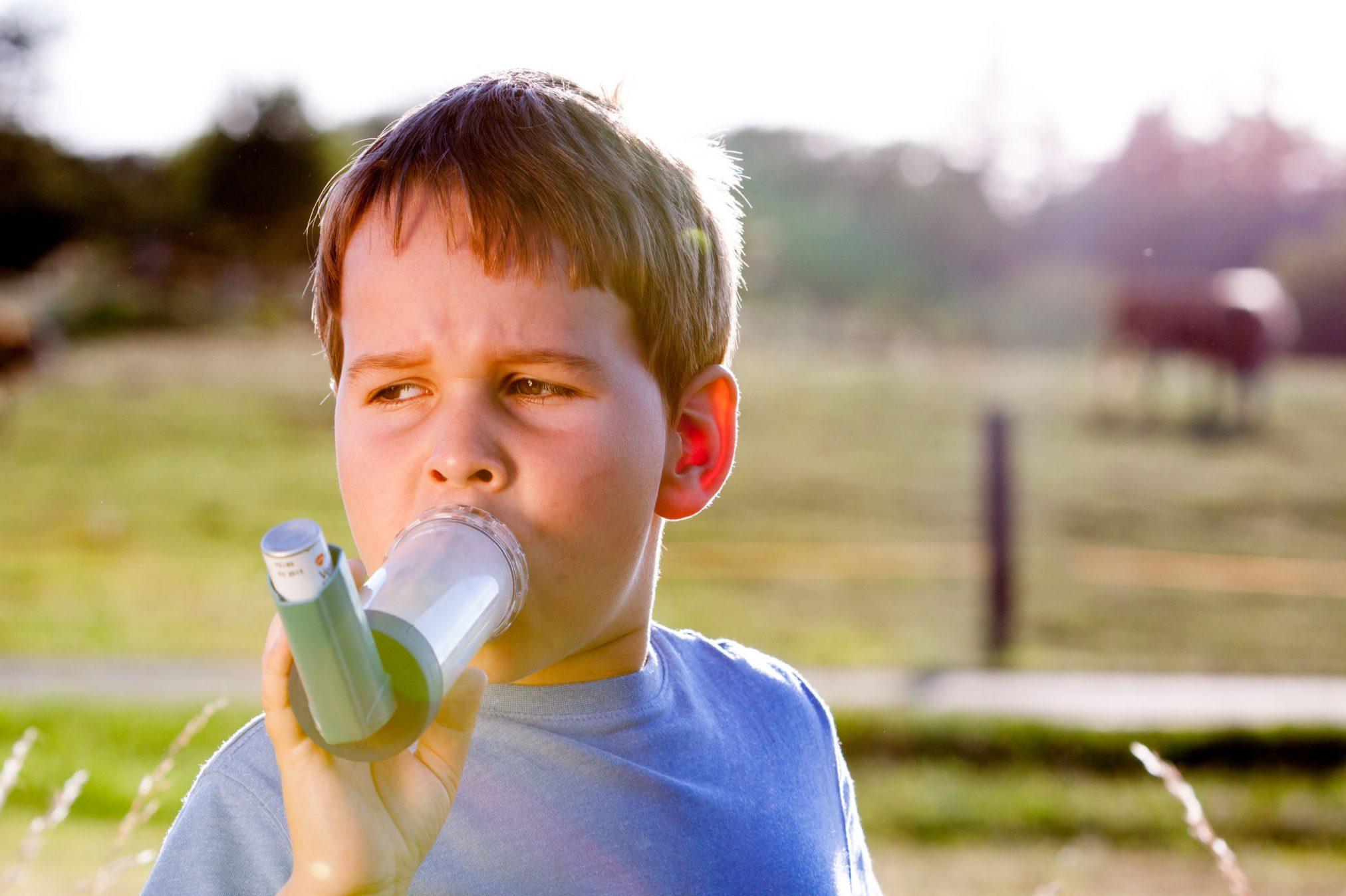 Image result for using inhaler