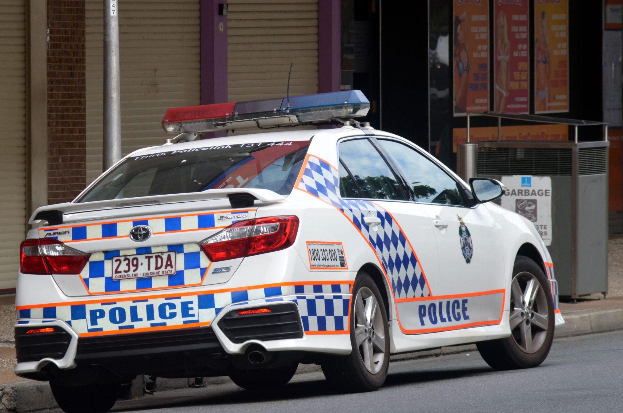 qld police car