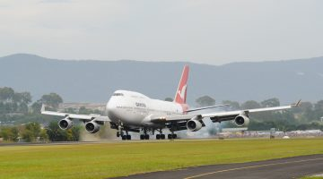 Qantas jumbo