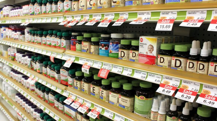 vitamins pharmacy products