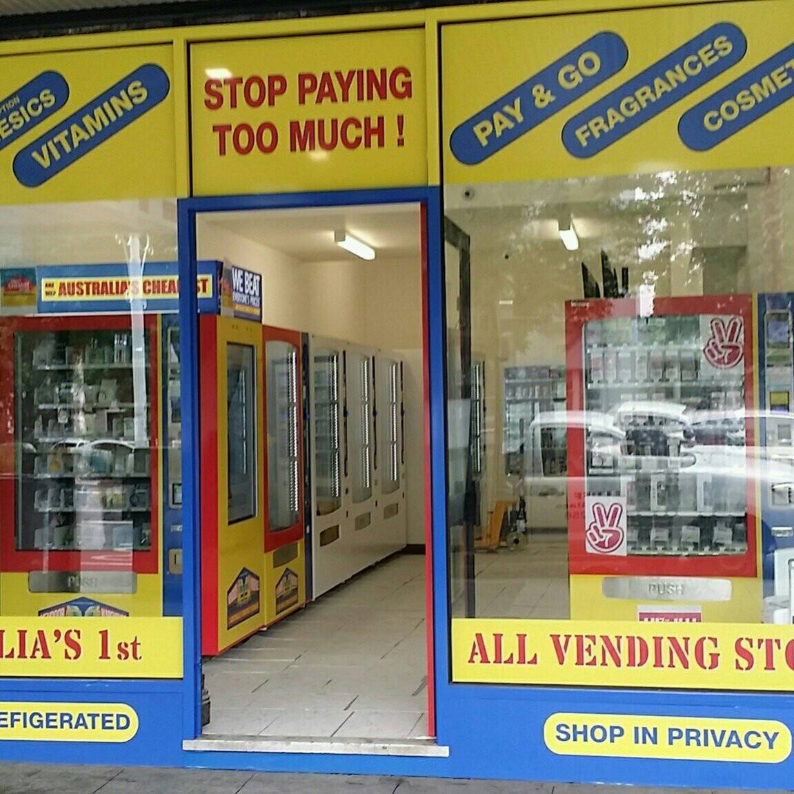 Poll: What do you think about vending machines selling cheap
