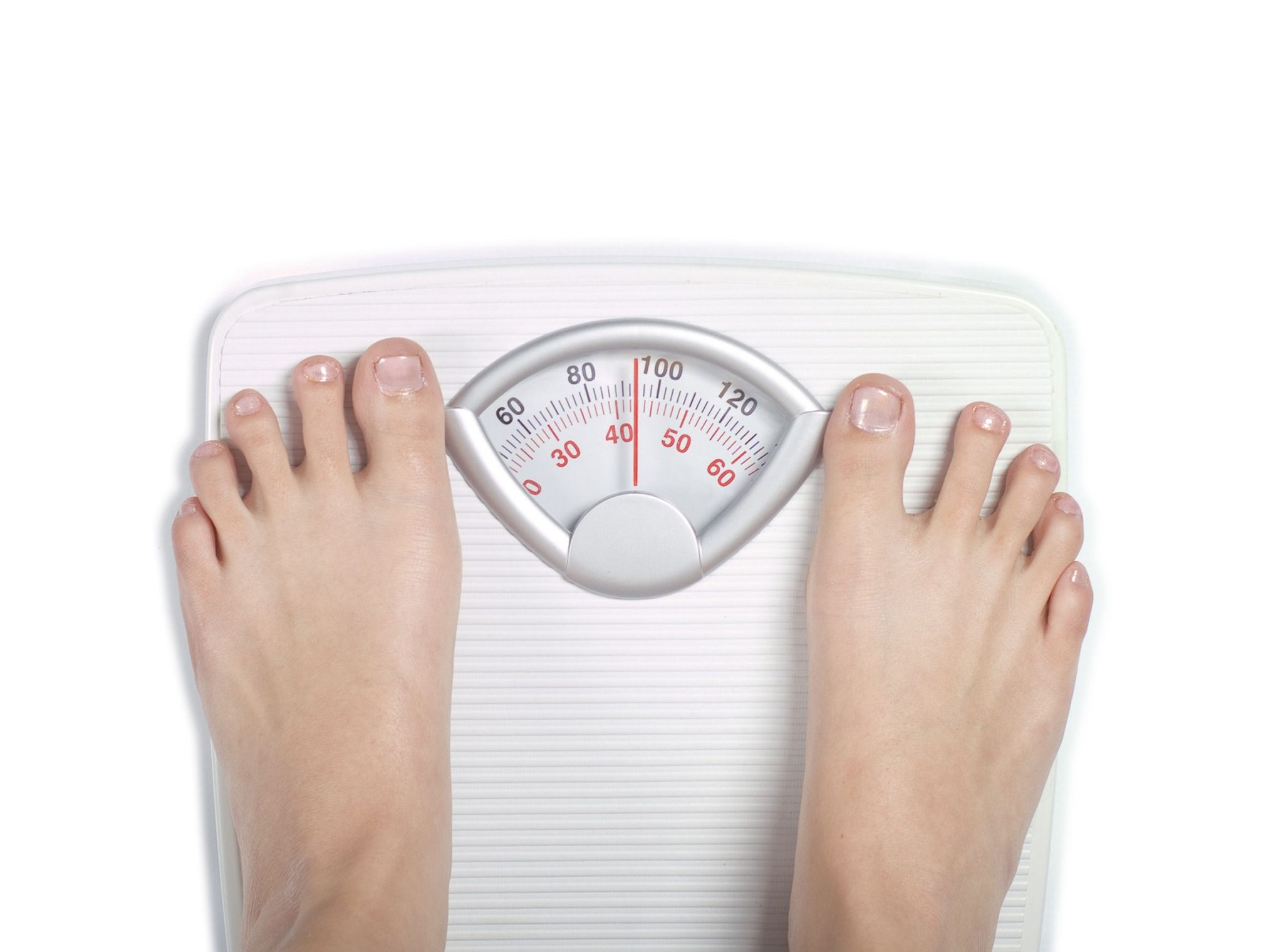 feet on scale weight 90kg