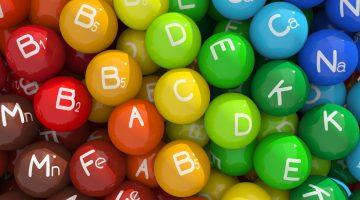 colourful vitamins