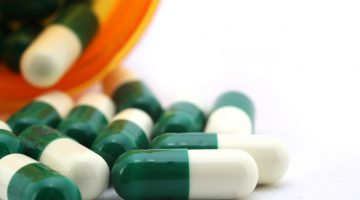green and white antibiotics