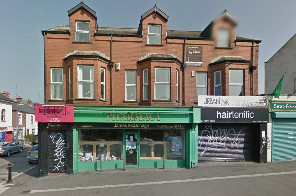 James McDonagh pharmacy Belfast