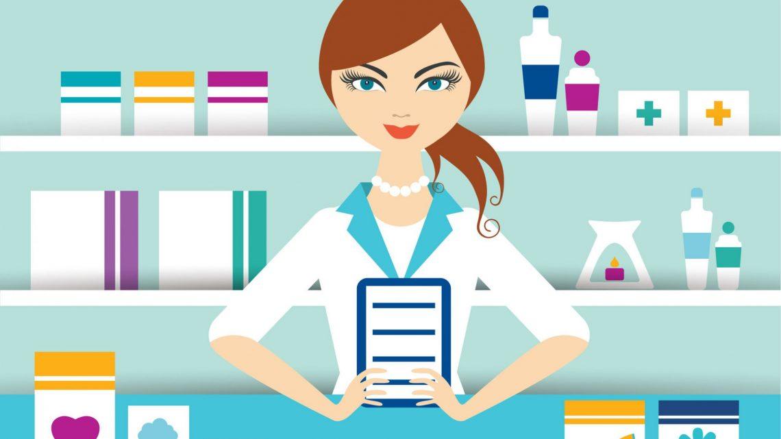 pharmacist illustration