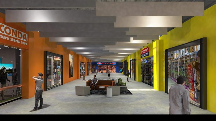 An artist's impression of a Home Consortium retail centre.