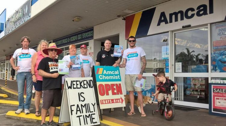 PPA organises protest over penalty rates outside Amcal pharmacies